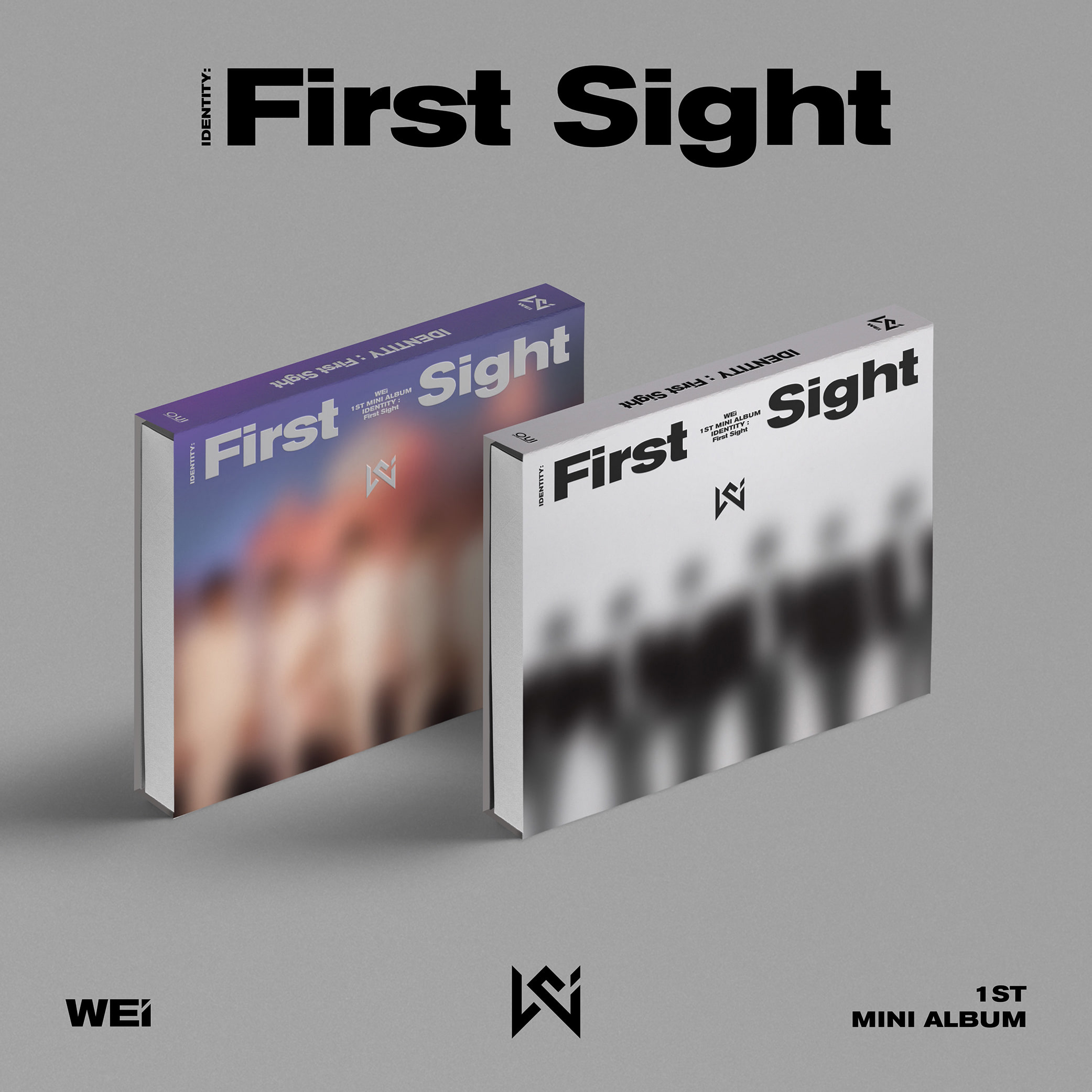 ★FANSIGN EVENT★ WEi - Mini Album Vol. 1 [IDENTITY : First Sight]케이팝스토어(kpop store)
