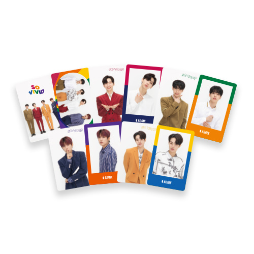 AB6IX - SO VIVID PHOTOCARD SET케이팝스토어(kpop store)